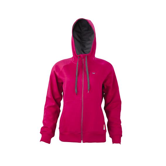 bdffcb29 Buy Women Zippered Hooded Sweatshirt - Pink Online | Sweatshirts ...