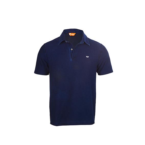 62f197f8 Buy Men Polo Indigo T-Shirt - Dark Denim Online | T-Shirts & Shirts ...