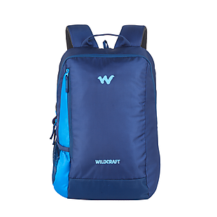 Wildcraft Streak Laptop Backpack With Internal Organizer - Blue