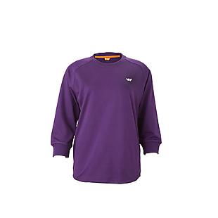 Wildcraft Women Crew Sweatshirt - Purple