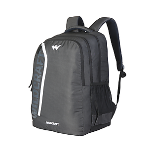 ae4c499868bf Buy Corpro Laptop Backpack With Back Ventilation And Rain Cover - Black 2  Online | Laptop Backpacks at Wildcraft