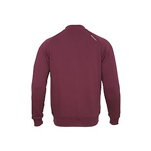 Wildcraft Men Bomber Sweatshirt - Maroon