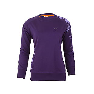 Wildcraft Women Crew Sweatshirt