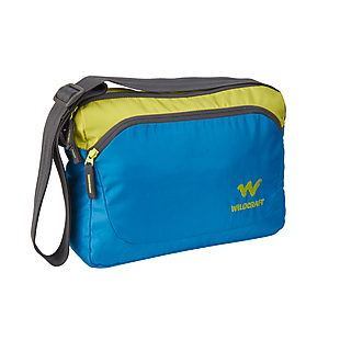 Wildcraft Courier 1 Messenger For Men - Blue