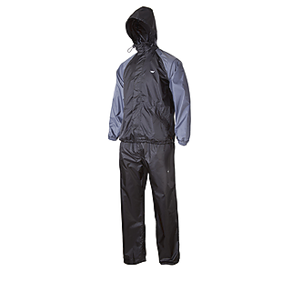 Wildcraft Wildcraft Hypadry Rain Suit (Jacket And Pant) - Black And Grey