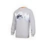 Wildcraft Men Printed Crew Sweatshirt - Light and Grey